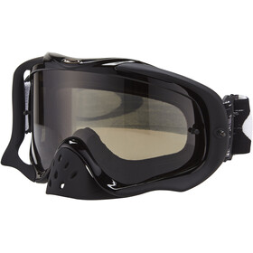 Oakley Crowbar MX Goggles jet black speed/dark grey